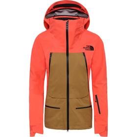 The North Face Purist Takki Naiset, radiant orange/british khaki